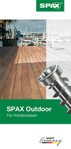 Flyer - SPAX Outdoor (05/2019)