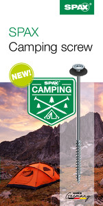 Flyer – SPAX Camping Screw